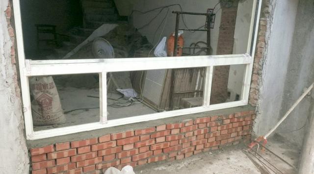 (施工工程)鋁窗施工
